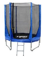 Батут Optifit Jump 8ft (2,44 м) синий