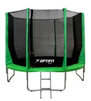 Батут Optifit Jump 14ft (4,27 м) зеленый