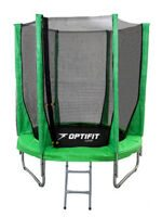 Батут Optifit Jump 8ft (2,44 м) зеленый
